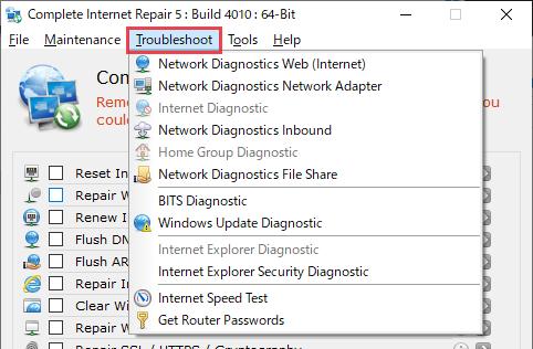 Complete Internet Repair