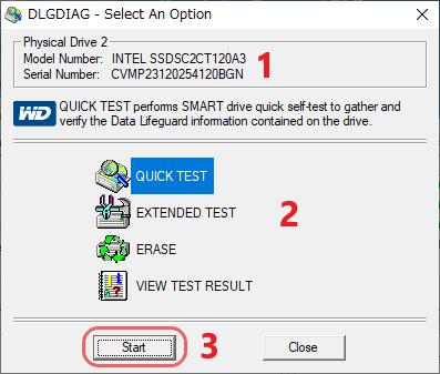 Western Digital Data Lifeguard Diagnostic
