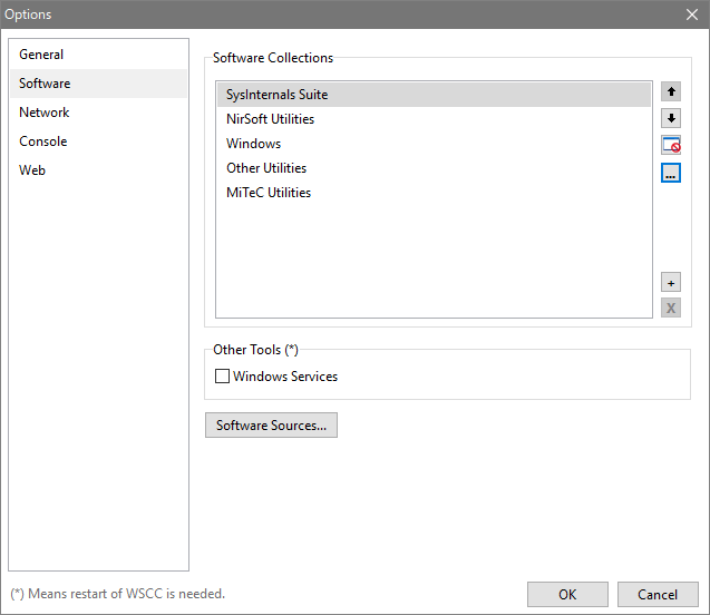 WSCC - Windows System Control Center