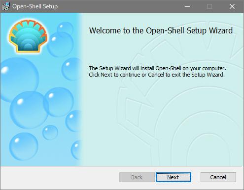 Open-Shell