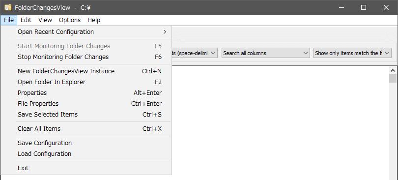 FolderChangesView