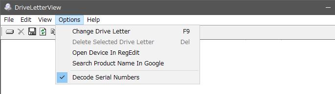 DriveLetterView