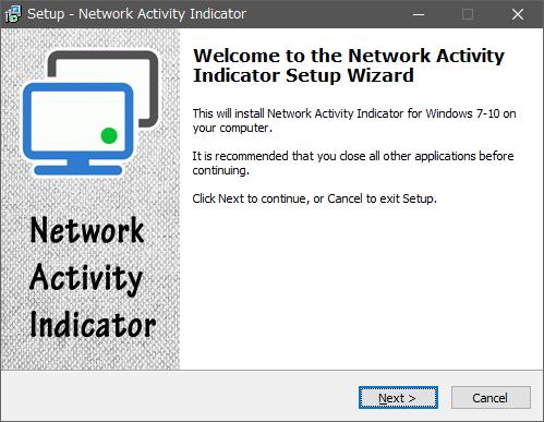 Network Activity Indicator