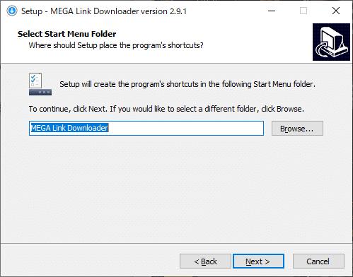MEGA Link Downloader