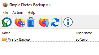 Simple Firefox Backup