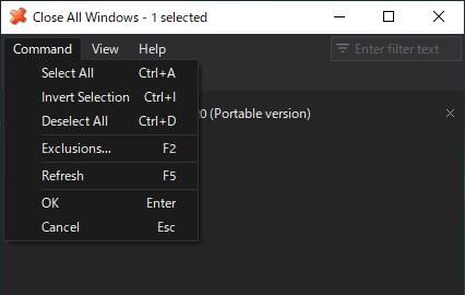 Close All Windows