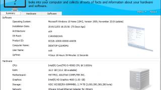 HiBit System Information