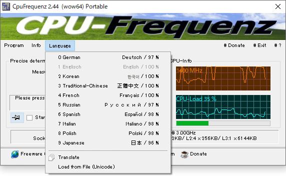 CpuFrequenz