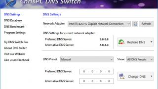 ChrisPC DNS Switch