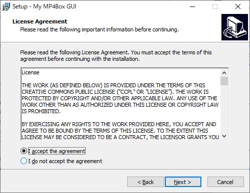 My MP4Box GUI