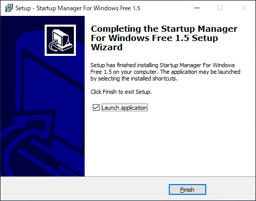 Startup Manager For Windows Free