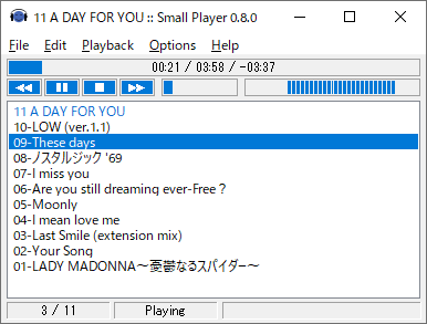 Small Player