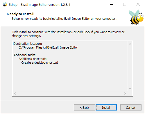 Bzzt! Image Editor