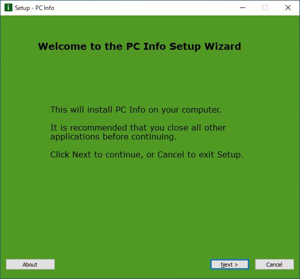 CobraTek PC Info