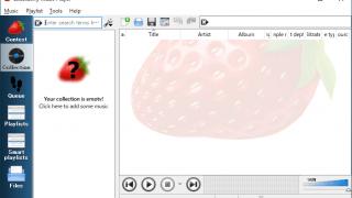 Strawberry Music Player