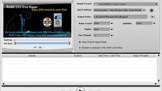 Acala DVD iPod Ripper