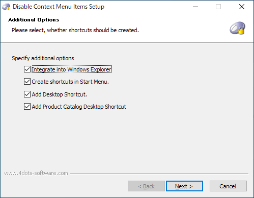 Disable Context Menu Items