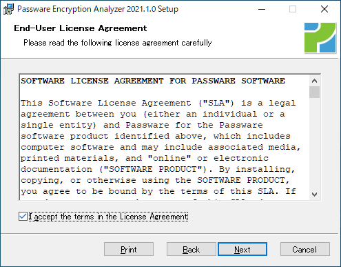 Passware Encryption Analyzer
