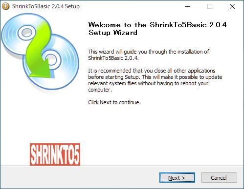 ShrinkTo5 Basic