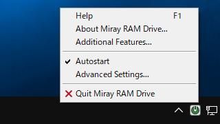Miray RAM Drive