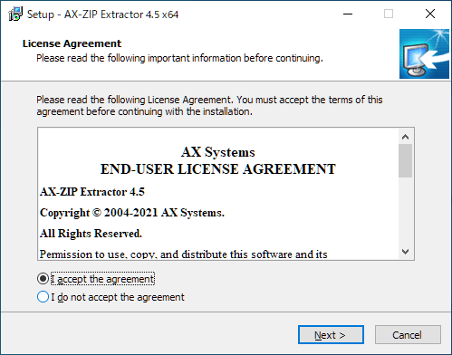 AX-ZIP Extractor