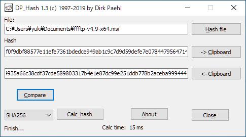 DP Hash