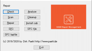 GUI for DISM