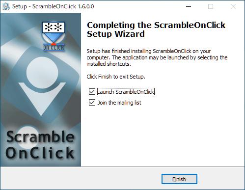 ScrambleOnClick