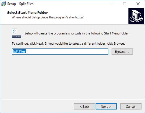 Split Files