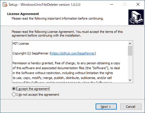 WindowsUnixFileDeleter