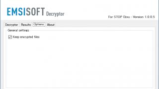 Emsisoft Decryptor for STOP Djvu