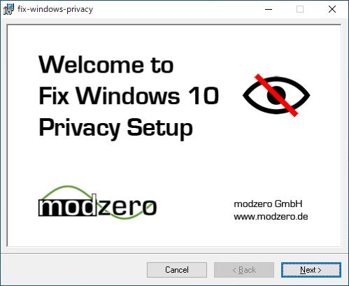 Fix Windows 10 Privacy