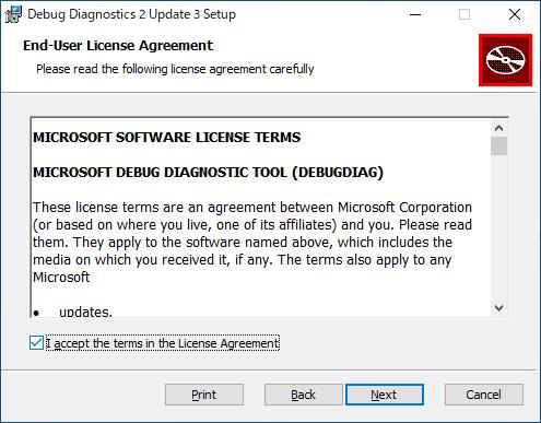 Microsoft Debug Diagnostic Tool
