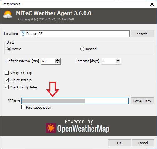 MiTeC Weather Agent