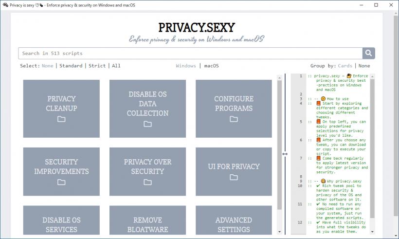 privacy.sexy