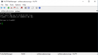 PuTTY Tab Manager
