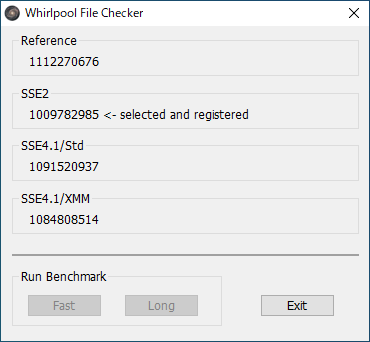 Whirlpool File Checker