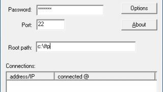 Core FTP mini-sftp-server