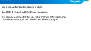 Intel NVMe Driver