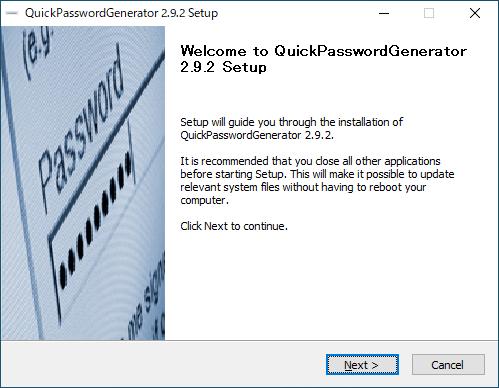 QuickPasswordGenerator