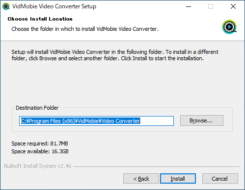 VidMobie Video Converter