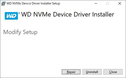 Western Digital NVMe Driver