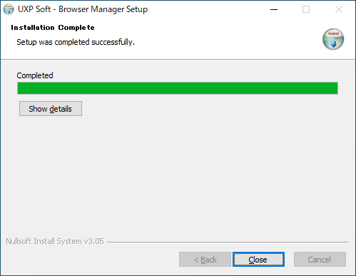 Browser Manager