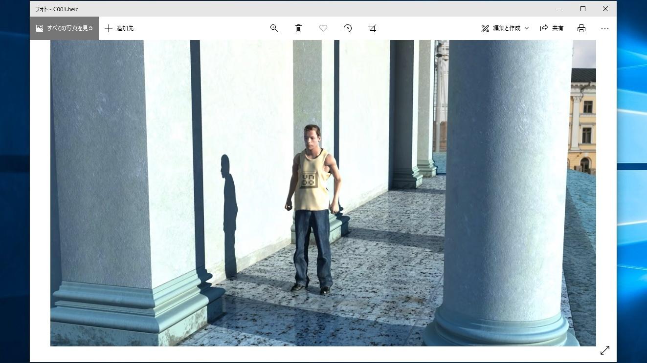 HEIF 画像拡張機能
