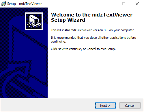 mdzTextViewer
