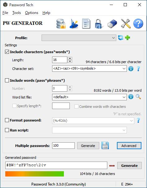 Password Tech