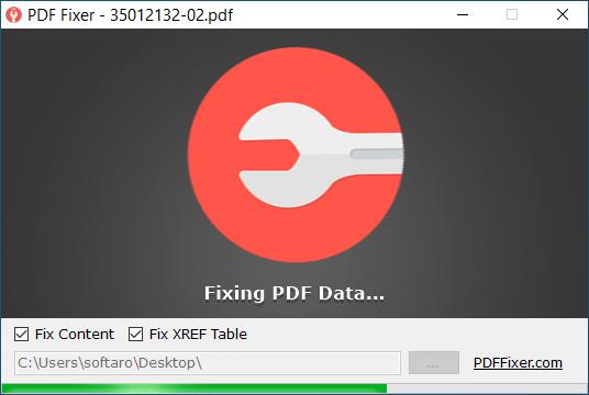 PDF Fixer