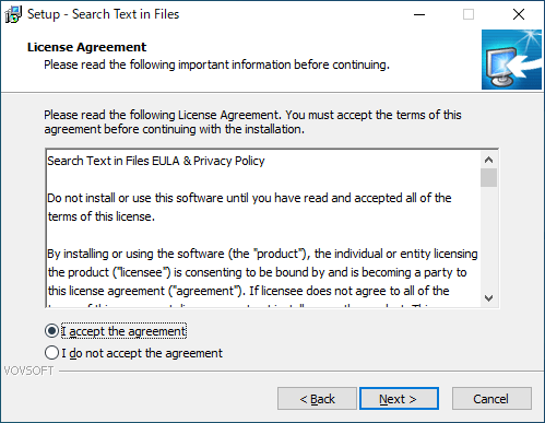 Search Text in Files