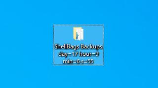 Shellbag Analyzer & Cleaner