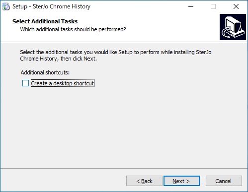 SterJo Chrome History